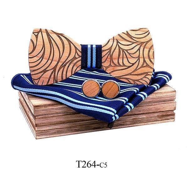 Coffret noeud papillon en bois original | Marc 12
