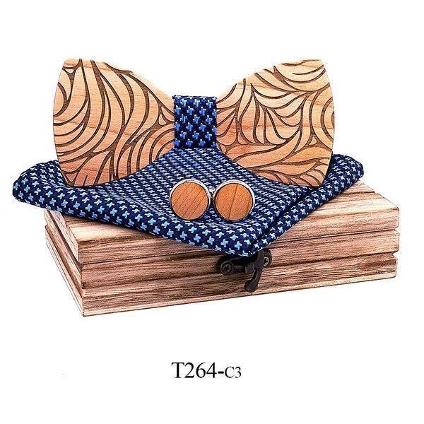 Coffret noeud papillon en bois original | Marc 10