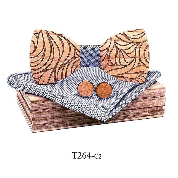 Coffret noeud papillon en bois original | Marc 9