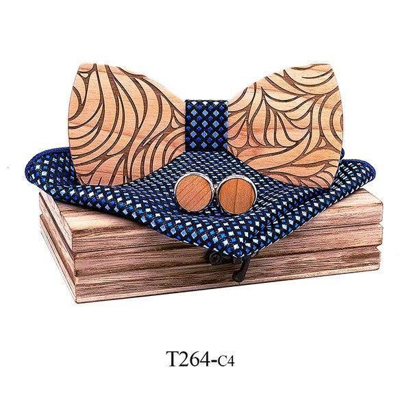 Coffret noeud papillon en bois original | Marc 11