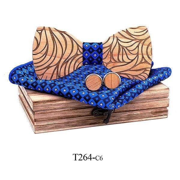 Coffret noeud papillon en bois original | Marc 13