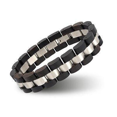 Bracelet en bois   Double 5