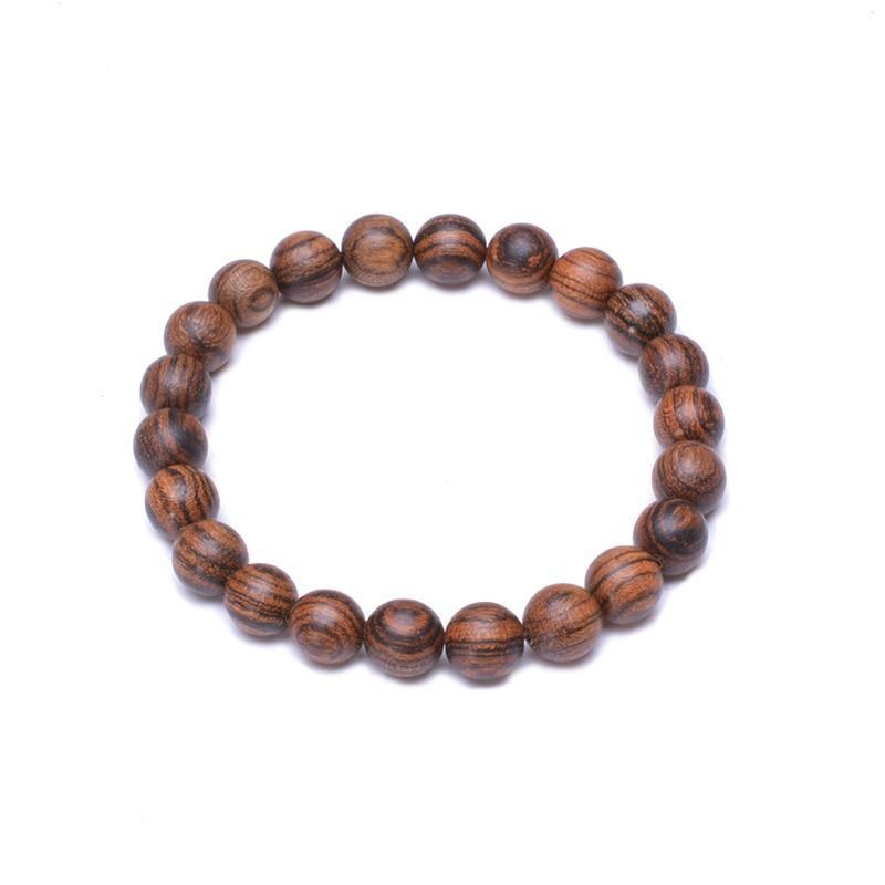 Bracelet en bois yoga | Médi 7