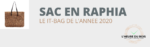 Le sac en raphia, un it-bag classique ! 12