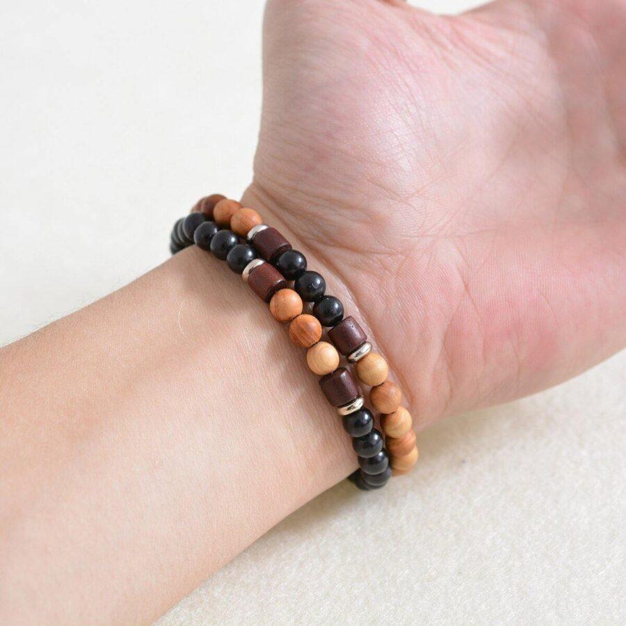 Bracelet en bois | Hugo 3