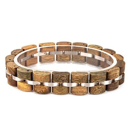 Bracelet en bois Unisexe 14