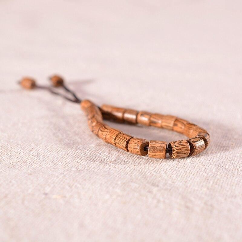 Bracelet tibétain en bois | Soneeya 7
