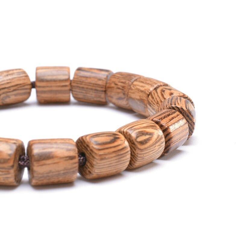Bracelet tibétain en bois | Soneeya 5