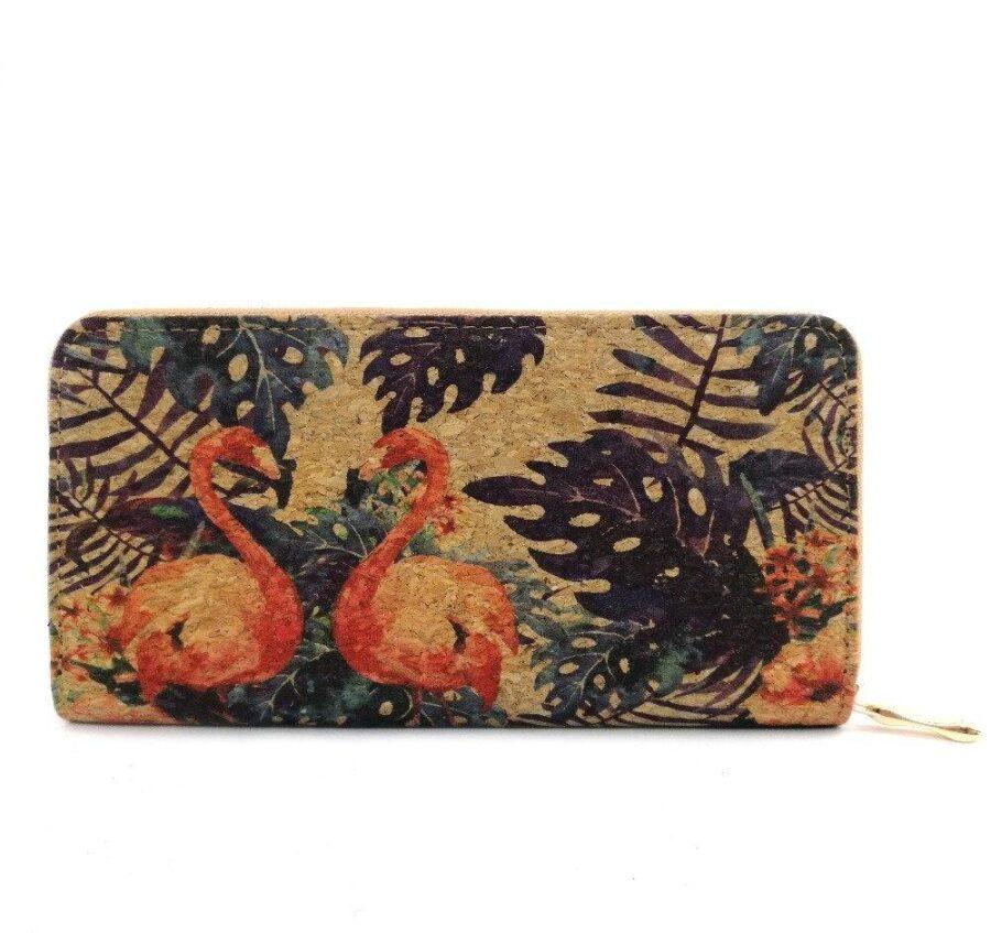 Portefeuille en liège | Flamingo 1