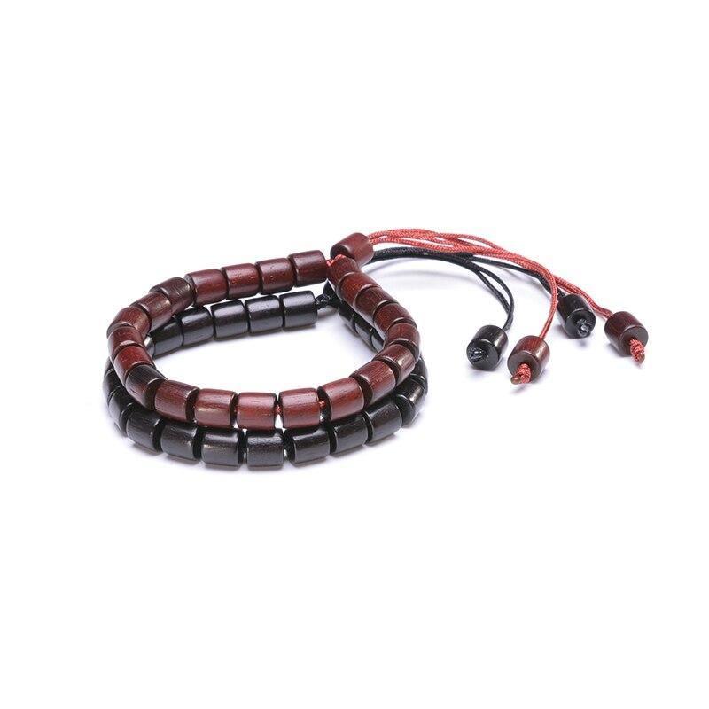 Bracelet tibétain en bois | Soneeya 9