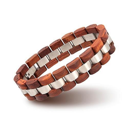 Bracelet en bois Unisexe 16