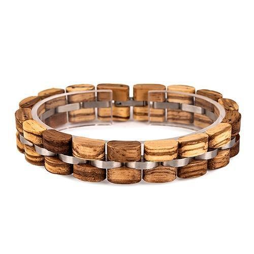 Bracelet en bois Unisexe 13