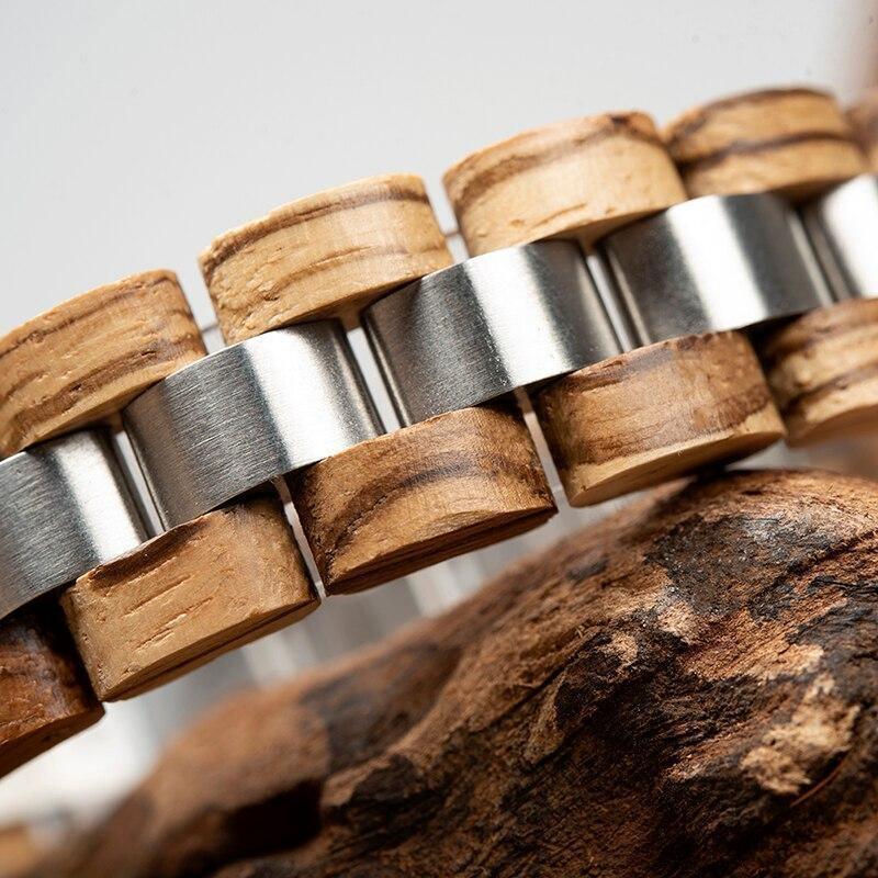 Bracelet en bois   Double 3