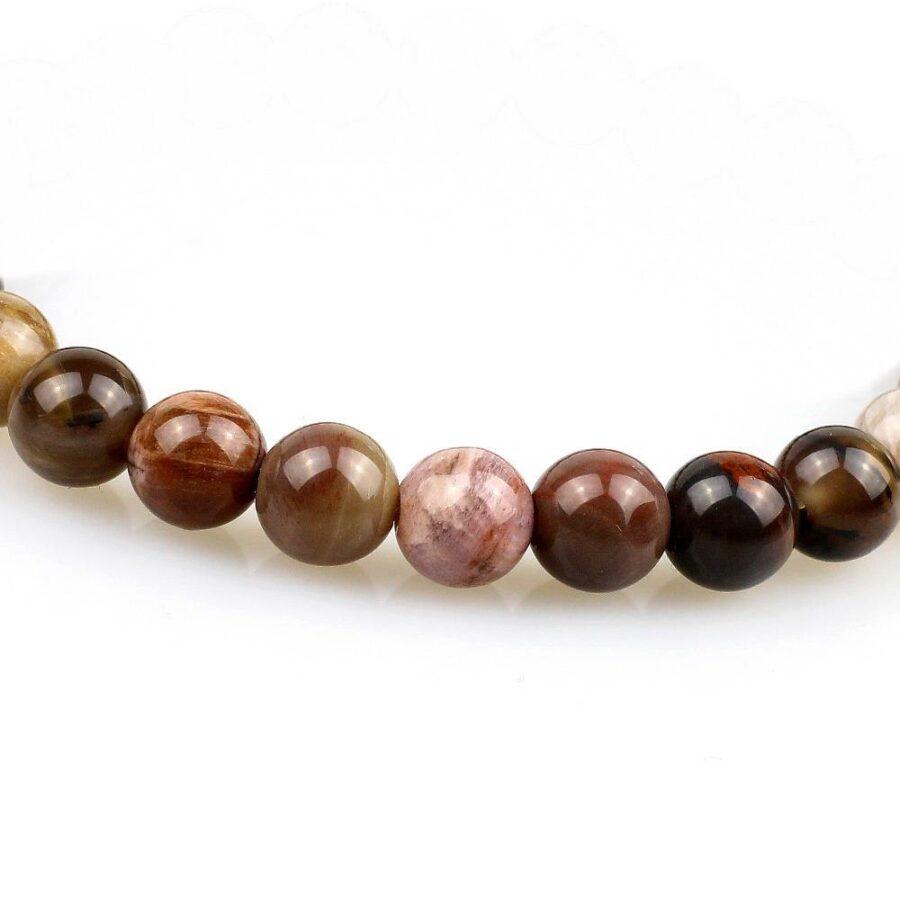 bracelet en perle bois