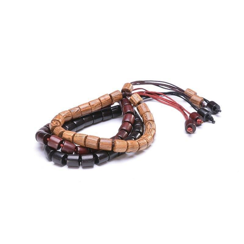 Bracelet tibétain en bois | Soneeya 11