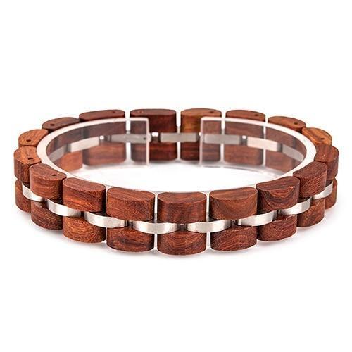 Bracelet en bois Unisexe 12