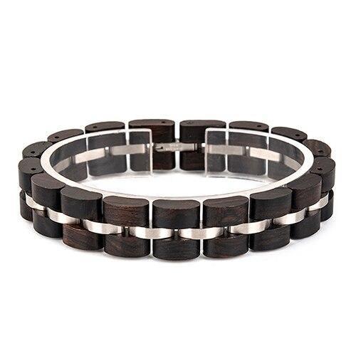 Bracelet en bois Unisexe 11