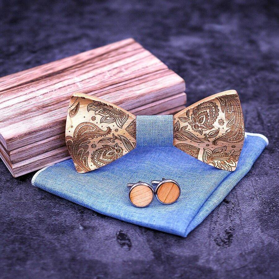 Noeud papillon en bois | Sculpture 1