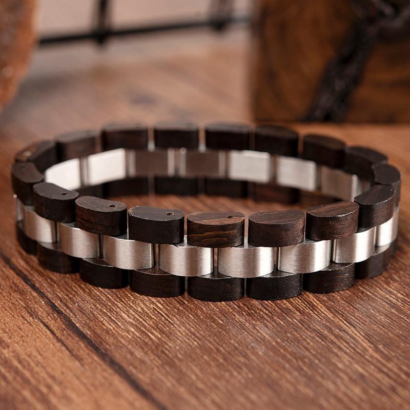 Bracelet en bois Unisexe 7