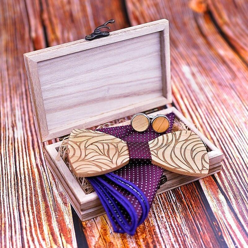 Coffret noeud papillon en bois original | Marc 6