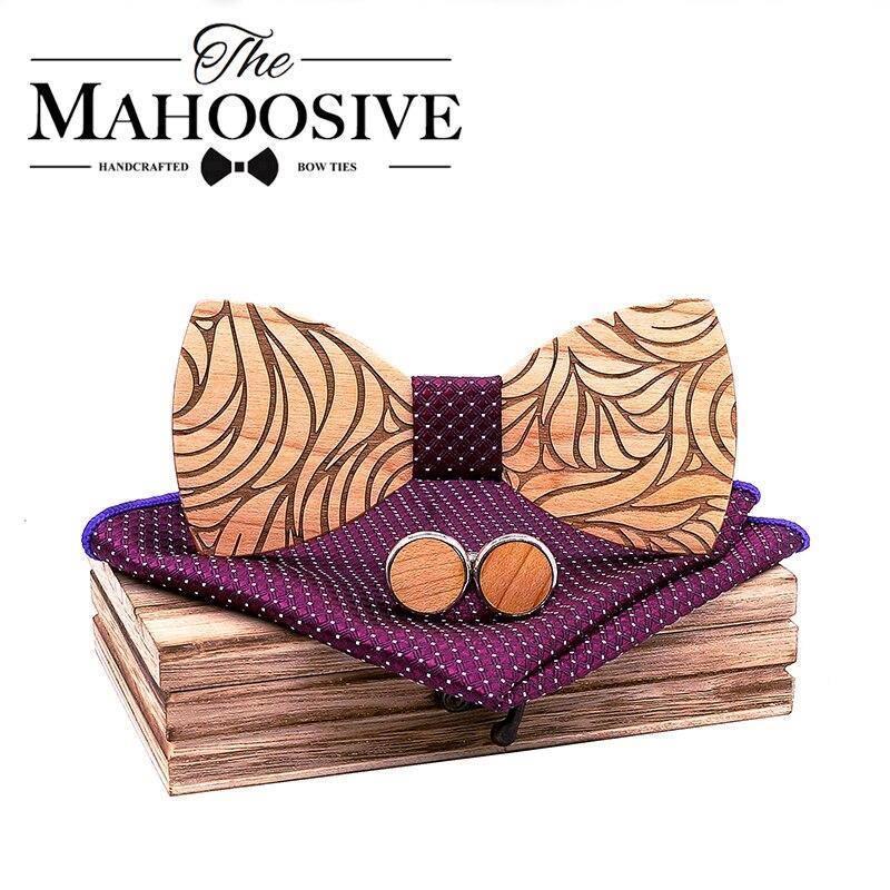 Coffret noeud papillon en bois original | Marc 1
