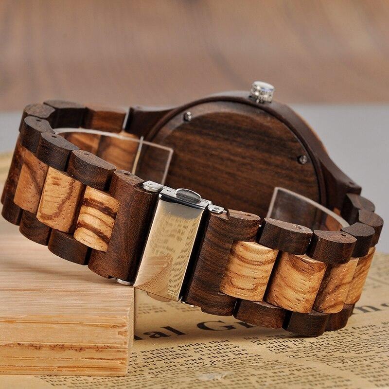 Montre en bois personnalisable | Pixel 4