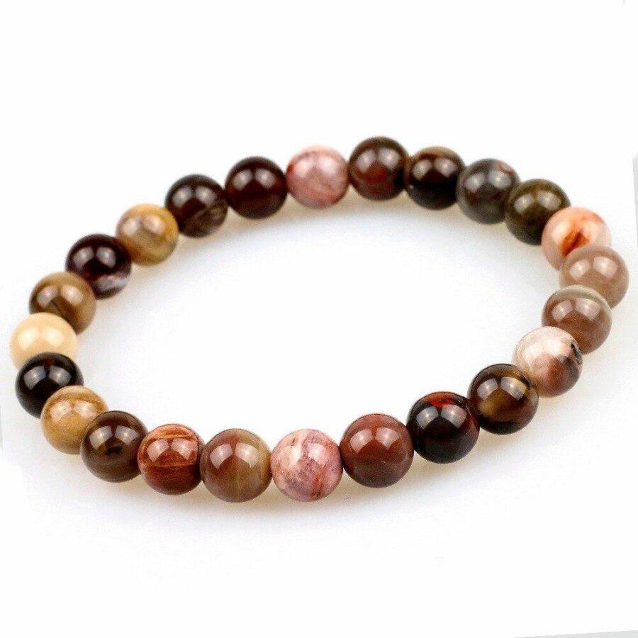 bracelet en bois perle