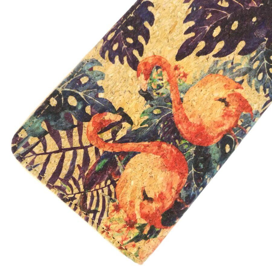 Portefeuille en liège | Flamingo 2