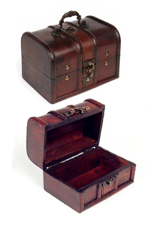 coffret à bijoux en bois