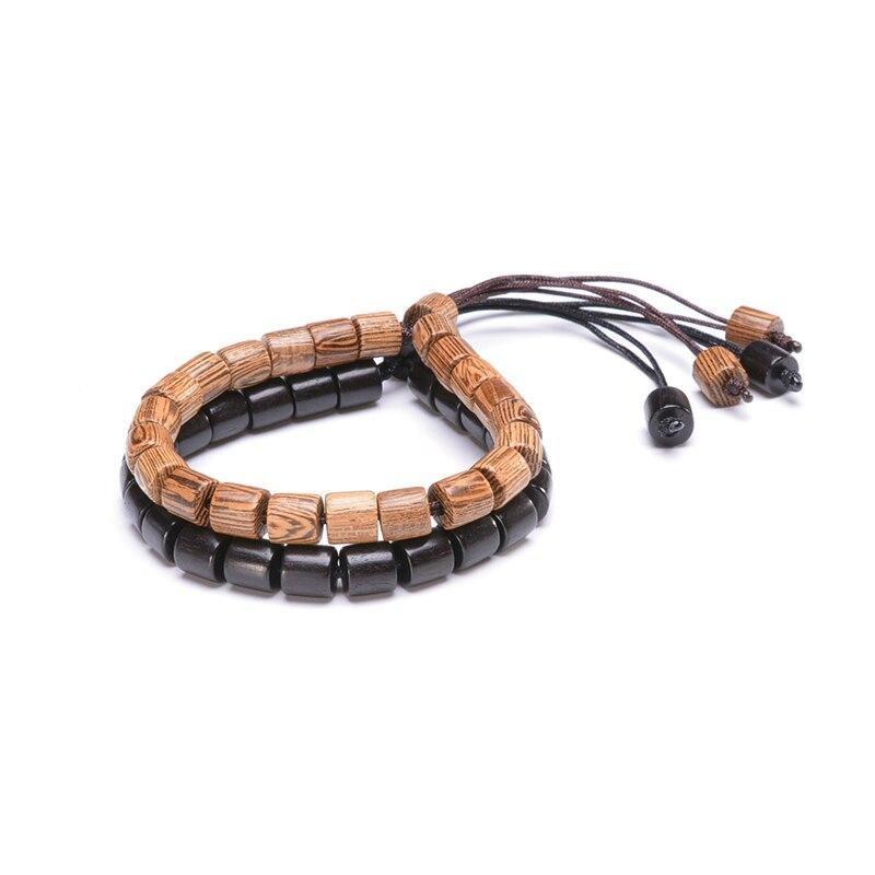 Bracelet tibétain en bois | Soneeya 8
