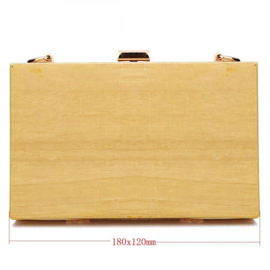 Sac en bois vintage | Ptite valise 2