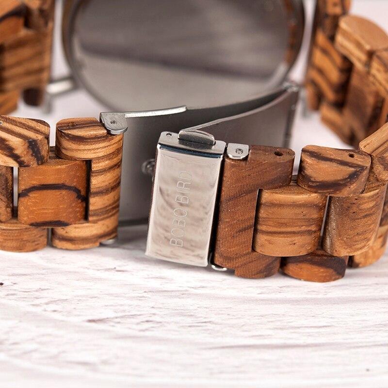 Montre en bois exotique chronographe| Chrono 1