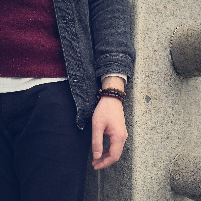 Bracelet tibétain en bois | Soneeya 3