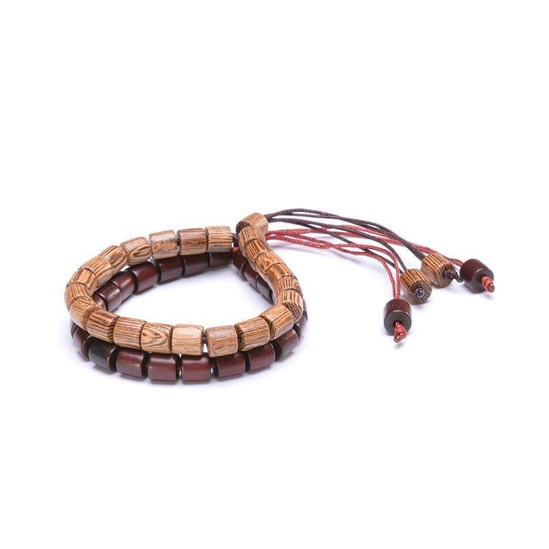 Bracelet tibétain en bois | Soneeya 10