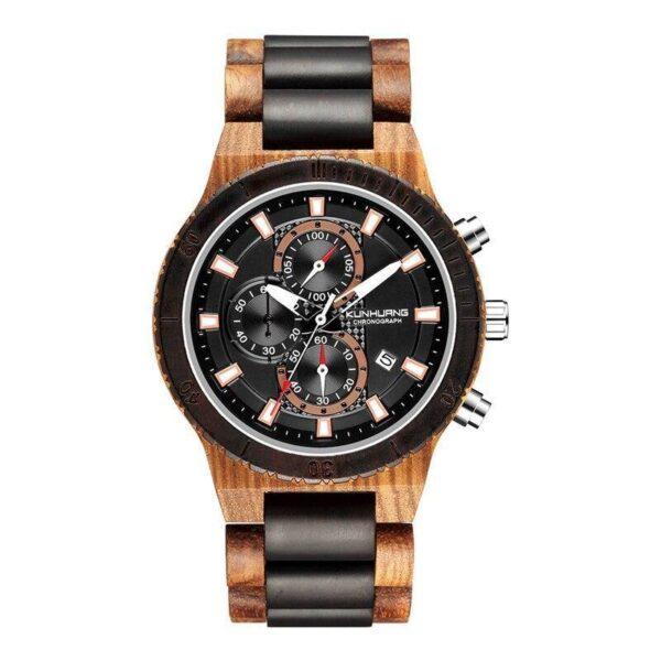 Montre en bois chronographe | Evan 10